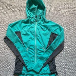 Avalanche light blue rain jecket